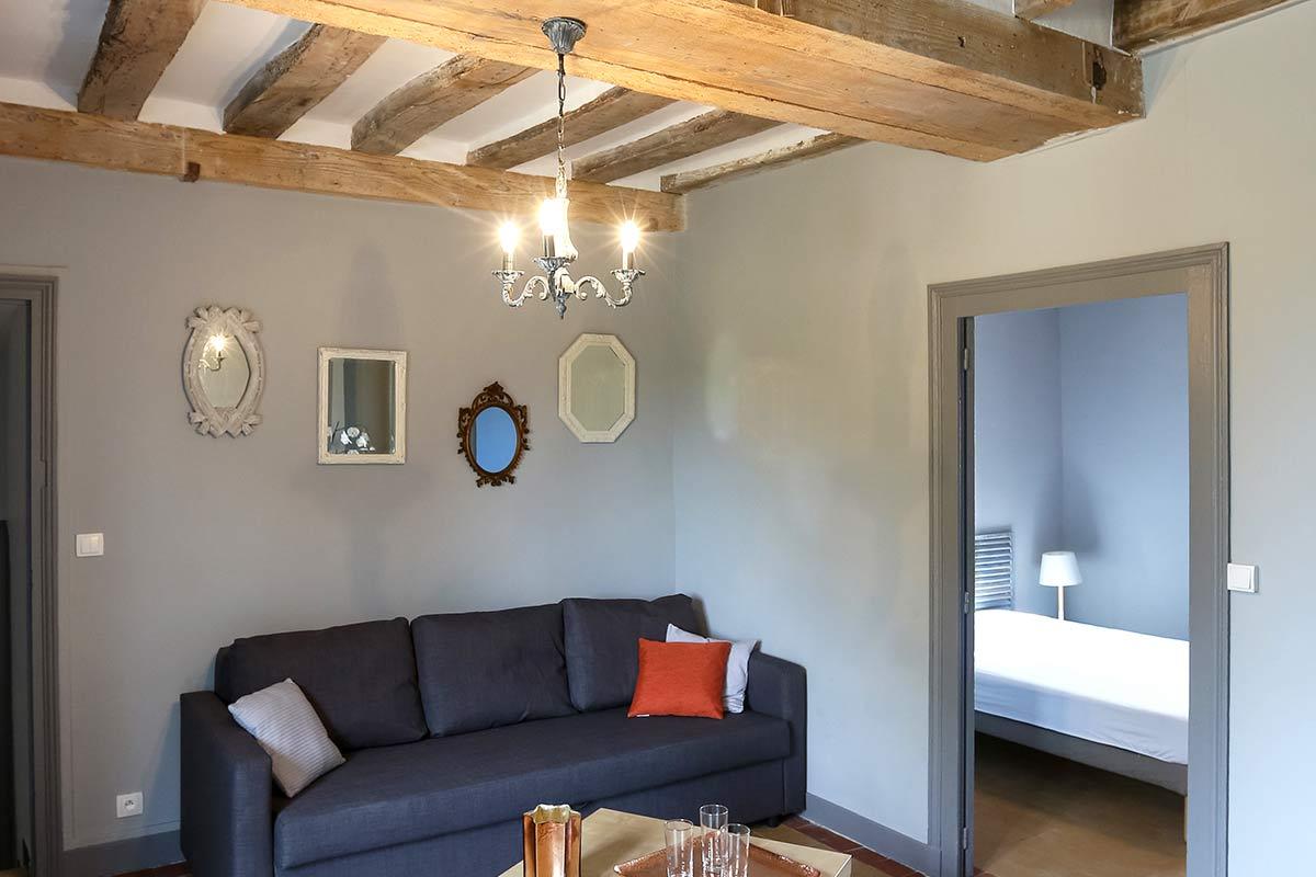 Vu sur les vignes de Touraine pour ce magnifique gîte en plein coeur de l'indre et loire.