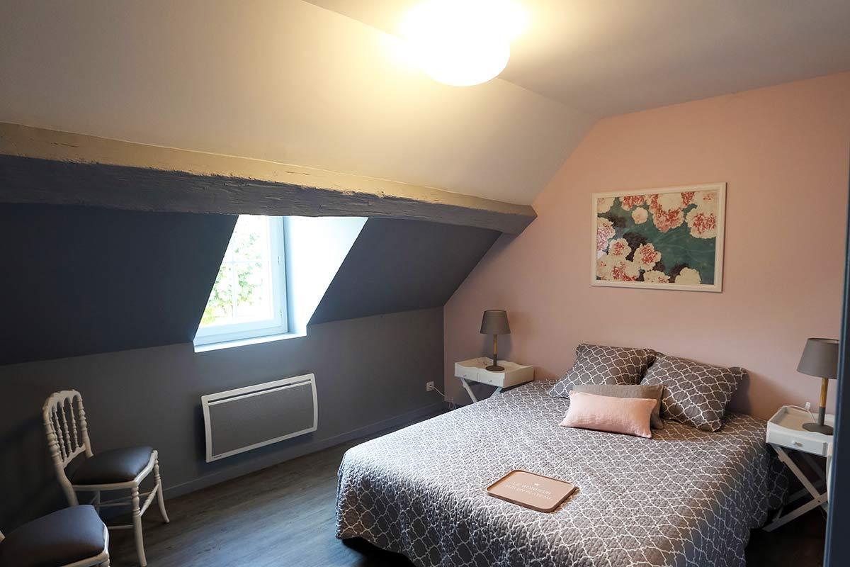 Le Gîte des Barres à Noizay vous propose plusieurs chambres pour deux personnes.