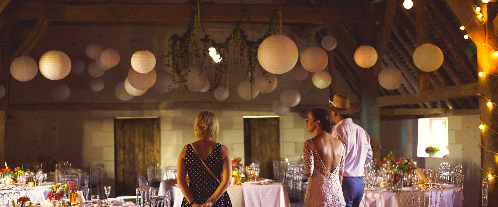 Pour un mariage de rêve en Touraine, la Grange des Barres est le lieu idéal !