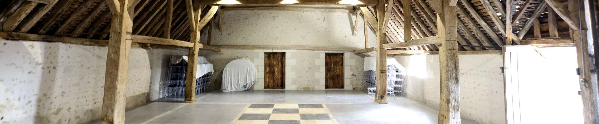 Salle de mariage et réception à Noizay en Indre et Loire.